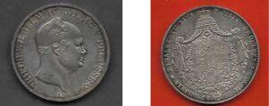Brandenburg-Preussen 1855 : Doppel-Taler * Friedrich Wilhelm IV. --> vz (!)