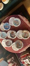 """Collector Plates """"Young Innocents� Set Of 7 From Danbury Mint"""