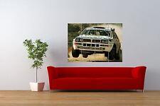 FOTO Sport LANCIA DELTA INTEGRALE RALLY Classic Auto Gigante Arte Poster nor0991