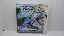 Brand New Rodea the Sky Soldier (Nintendo 3DS, 2015) w/ Original Soundtrack