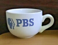 Public Broadcasting Station (PBS) Ceramic Soup Cup Mug