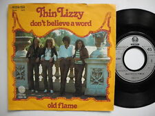 "THIN LIZZY Don't Believe A Word / Old Flame 45 7"" 1976 Germany"