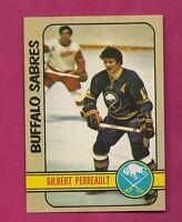 1972-73 TOPPS  # 120 SABRES GILBERT PERREAULT NRMT-MT CARD (INV# A3578)