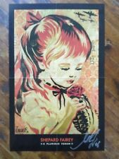 War by Numbers / Grenade Girl Lithograph Signed by Shepard Fairey  - Rare 2006 !