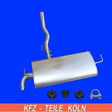 NISSAN QASHQAI - 2.0 dCi Muffler Exhaust System End SILENCER + Set