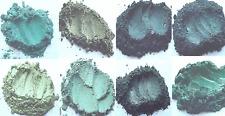 Green Light Dark Shiny Mica Collection Cosmetic Grade Eye shadows Mineral Makeup