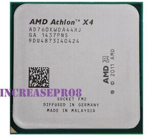 AMD Athlon X4 760K Processor 3.8GHz Socket FM2 CPU 100W 1600MHz