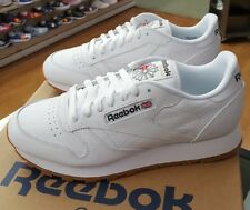 REEBOK CLASSIC LEATHER 49797 WHITE/GUM MEN US SZ 9