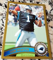 CAM NEWTON 2011 Topps GOLD SP Rookie Card RC Logo 1196/2011 Panthers Auburn $$