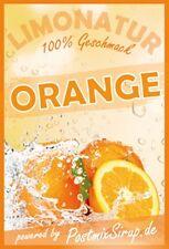 Orangenlimonade - Konzentrat Postmix - Sirup - Getränkesirup - 10l BiB (4,90€/L)