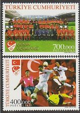 TURKEY 2002, 3rd BEST FOOTBALL TEAM FIFA WORLD CUP, MNH