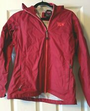 Mountain Hardwear Women's Hardshell Rain Jacket, EUC, Small Pink