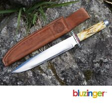 R.J. COOK Custom Hand Forged Fighting Knife Large Bowie Dagger c.1970s