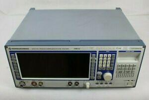 Rohde & Schwarz 1050.9008.53 Digital Radiocommunication Tester CMD53