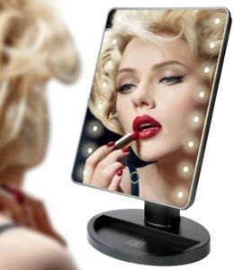 MAKE UP MIRROR 22 LED Lights Vanity Dressing Table Bathroom Bulbs Hollywood