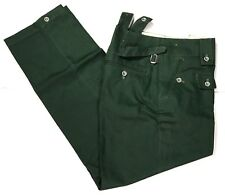 WWII GERMAN M43 M1943 HBT SUMMER TROUSERS PANTS- LARGE