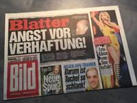 Bildzeitung BILD 04.06.2015 * Geschenk Geburtstag Taufe Hochzeit * Blatter