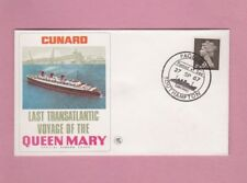 G.B. Shipping cover 1967, Queen Mary final voyage, Southampton Paquebot.