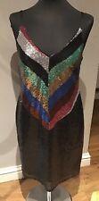 Warehouse : Sequin Cami Dress ( Uk 10 ) RRP £79