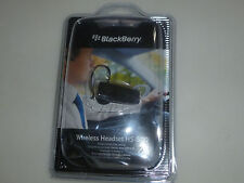 NEW BLACKBERRRY WIRLESS HEADSET HS-500 B;UETOOTH EARPIECE FOR CELL PHONES