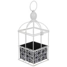 Decorative White Metal Lantern