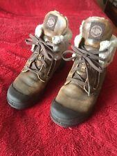 Boys Girls Palladium  Leather Brown Boots ,UK Size 1
