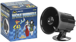 Wolo Wolf Whistle Electronic Horn - 12 Volt 350 70-2018
