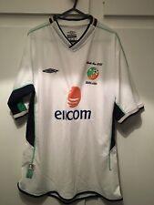 *M* 2002 IRELAND Away World Cup Football Shirt