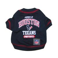 Houston Texans Officially Licensed NFL Dog Pet Tee Shirt, Navy Sizes XS-XL