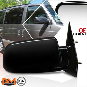 For 88-05 Chevy Astro/GMC Safari OE Style Manual Adjust Side Door Mirror Right