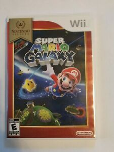 Super Mario Galaxy Nintendo Wii system video game kids action family