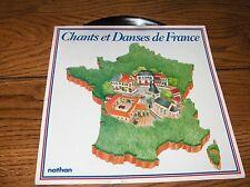 CHANTS ET DANSES DE FRANCE