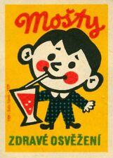MOSTLY ORANGE JUICE, Czech, 1959, 250gsm A3 Poster