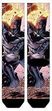 DC COMICS BATMAN CHARACTER ACTION POSE PREMIUM SUBLIMATED MENS ADULT CREW SOCKS
