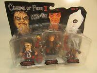 2005  Cinema of Fear figures Leatherhead-Freddy Krueger-Jason Voorhees ''New''