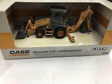 CASE 580 SUPER N WT LOADER BACKHOE 1/50 ERTL