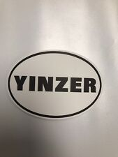 YINZER PITTSBURGH PITTSBURGHESE STICKER 412 PITT RARE!! YINZ
