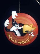 3D SYLVESTER SPEEDY GONZALES Looney Tunes Christmas Ornament Bradford LE Warner