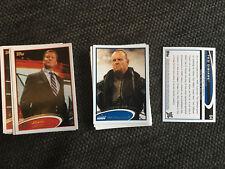WWE 2012 Topps Cards Tarjetas * baseset completamente * WWF Wrestling WCW TNA