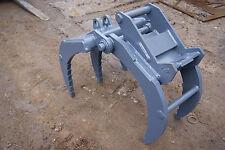 2-4 ton excavator grapple to suit Harford safe lock hitches Takeuchi Kubota etc