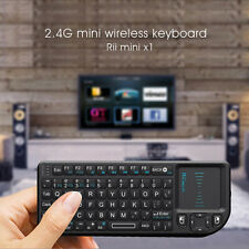 Rii Mini X1 Wireless Keyboard 2.4G Air Fly Mouse Handheld Touchpad