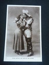 BUFFALO BILL      Fun 1900s postcard KISSING