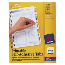 Avery Printable Self Adhesive Tabs - 16280