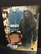 The Walking Dead Season 5 Walker Authentic Clothing Relic Card Mud 14/50 Topps