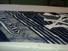 New York Yankees blue bath sheet towel