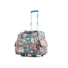 Carry On Luggage With Wheels Travel Flight Overnight Bag Tote Rolling Suitcase