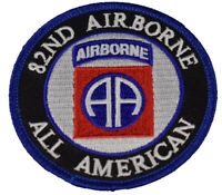 US ARMY 82ND AIRBORNE DIVISION ABD PATCH AA ALL AMERICAN PARATROOPER