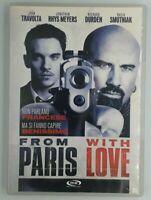From Paris With Love DVD John Travolta Film Cinema Video Movie