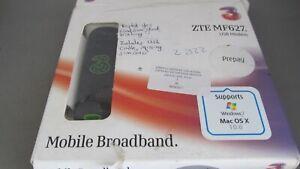 Boxed TMOBILE ZTE MF627 3G 7.2 Mbs USB Modem Dongle inc VAT