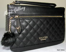 Guess Handbag Purse Wallet  Wristlet Evening Hand Pouch tote Bag coin  Zip NWT